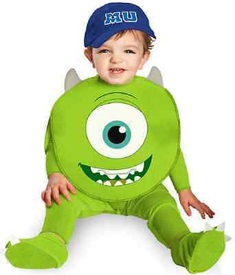 Mike Monsters Inc University Fancy Dress Up Halloween Infant Baby Child Costume - Monsters Inc Infant Halloween Costumes