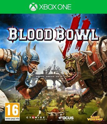 * XBOX ONE NEW SEALED Game * BLOOD BOWL II 2