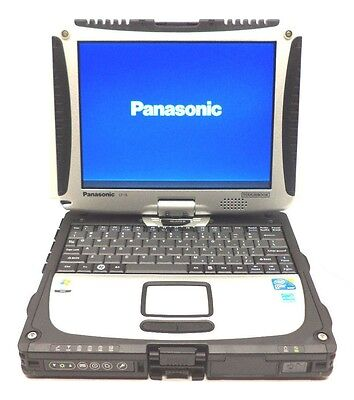PANASONIC TOUGHBOOK CF-19 WINDOWS XP LAPTOP COMPUTER TABLET