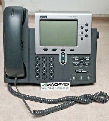 Cisco Ip Phone 7960 68-1679-08 Rev C0 Tested Free Shipping