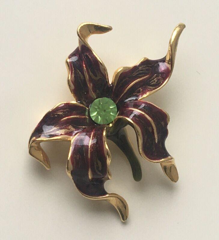 Vintage flower  Brooch Pin