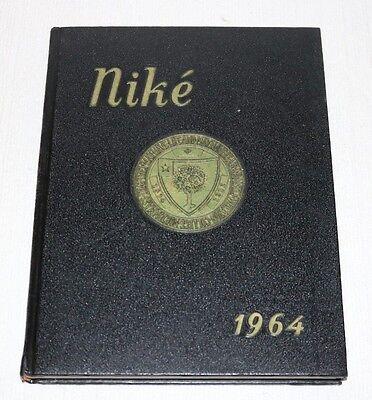 Wheaton College Norton Massachusetts Nike1964 Yearbook Annual