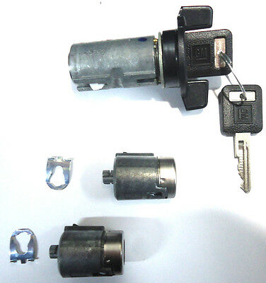 Chevy GMC Pickup 88-94 OEM Ignition & Door Lock Key Switch Cylinder Set W/2 Keys