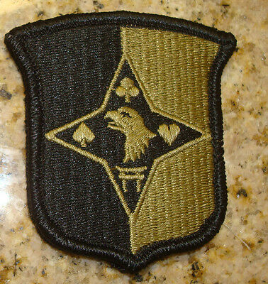 Army Patch,ssi, 101st Sustainment Brigade, Multi Cam,,with Velcr, Color