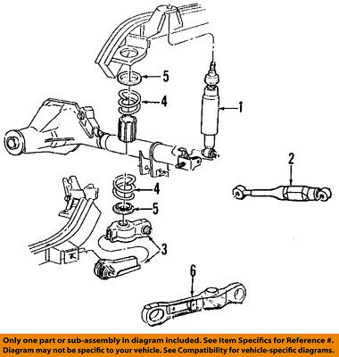 FORD OEM 94-99 Mustang Rear-Horizontal Vibration Damper F8ZZ4A263B