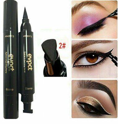 Winged Eyeliner Stamp Waterproof Long Lasting Liquid Eyeliner Pen Eye Makeup Kit Eyeliner