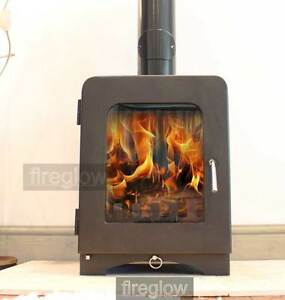 Fireglow ST2 DEFRA Approved Wood MultiFuel Logburner Stove 5kW High Efficiency