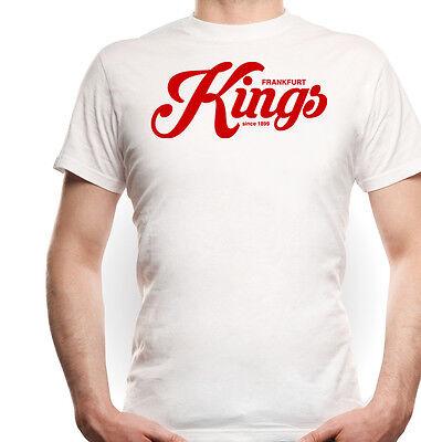 Frankfurt Kings T-Shirt White Ultras Brudi Trikot Fan Haftbefehl Main