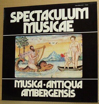 LP Musica Antiqua Ambergensis Schwämmlein Spectaculum Musicae  Carus 80 mint