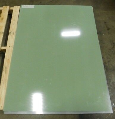 "UHMW Polyethylene Plastic Sheet /"" x .375/"" x 24/"" x 48/"" Green Color"
