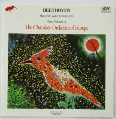BEETHOVEN MUSIC FOR WIND INSTRUMENTS CD - THE CHAMBER ORCHESTRA OF EUROPE