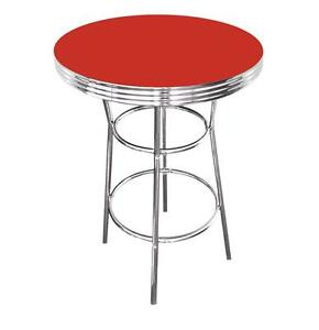Chrome Formica Table