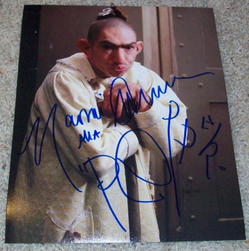 NAOMI GROSSMAN SIGNED AUTOGRAPH AMERICAN HORROR STORY PEPPER 8x10 PHOTO B wPROOF