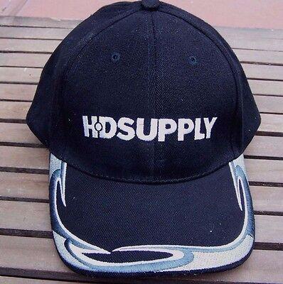 Hd Supply Industrial Supplier Black Baseball Hat New