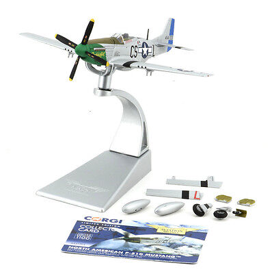 """Corgi P-51D Mustang - """"Daddy's Girl"""" 1:72 Die-Cast Airplane AA27704"""