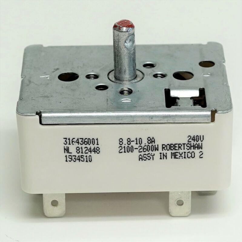 Range Stove Element Burner Switch for Frigidaire 316436001 AP3885460 PS1145040