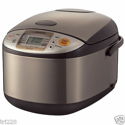 Zojirushi NSTSC18 10 Cups Micom Rice Cooker & Warmer NEW A5