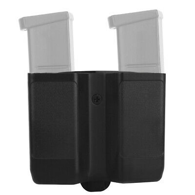 Double Stack Magazine Pouch Belt Mag Holster for 9mm/.40 cal/.357