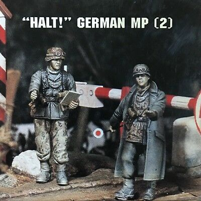 "Jaguar Models 1/35 ""Halt!"" German MP (2 resin figures) - 63007"