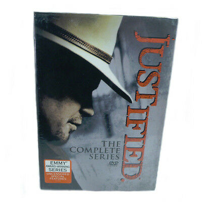 JUSTIFIED The Complete Series Seasons 1-6 DVD NEW 1 2 3 4 5 6
