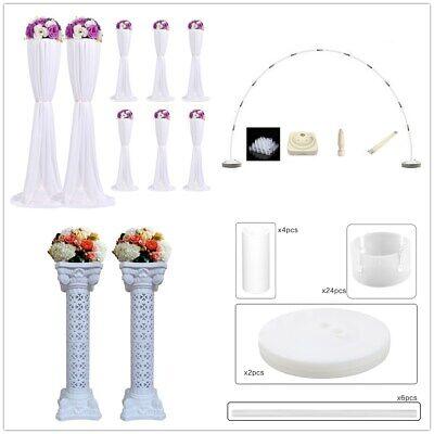Kunststoff Hochzeit Blumensäule Ballon Bogen Ständer Party Deko Set 4 Modell