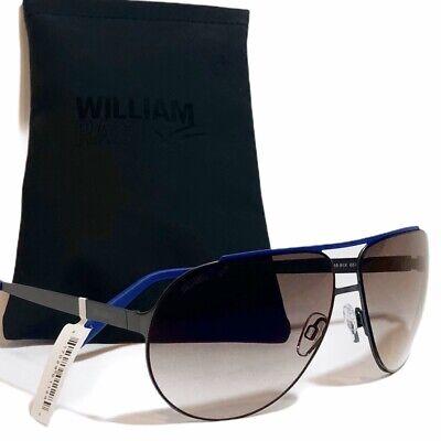 William Rast WR01891 Unisex Navy Blue Aviator Sunglasses