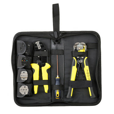 4 In 1 Wire Crimpers Ratcheting Terminal Crimping Pliers Cord End Terminals - 4 In 1 Tool