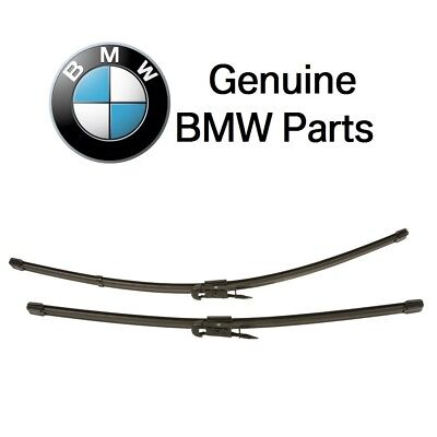 For BMW E90 328i 335i xDrive Front Windshield Washer Wiper Blade Set GENUINE New
