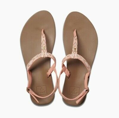 REEF // Cushion Bounce Slim // Womens Coral Sandals // NEW!!! Womens Coral Reef