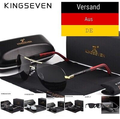 Polarisierte HD Sonnenbrillen Herren Neu 2020 Kollektion UV 400 (King Seven Sunglasses)