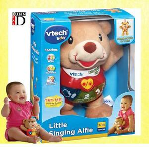 VTech Baby Little Singing Alfie Soft Plush Cuddly Toy Bear with Sound and Light