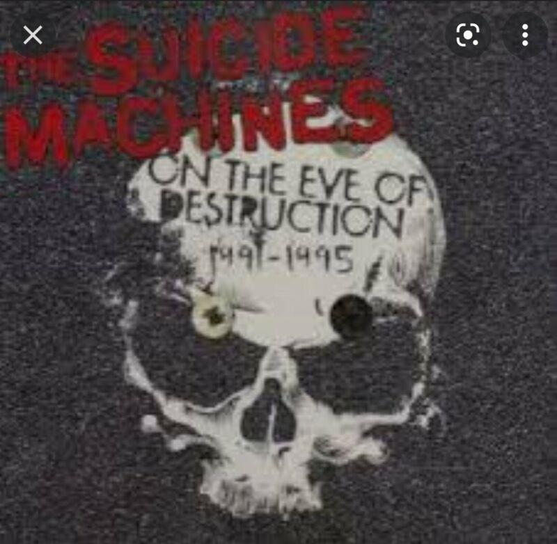 suicide machines - on the eve of destruction 2xlp colored vinyl ska punk nofx
