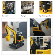 Great invesrment 1.5 tonne Excavator  Skye Frankston Area Preview