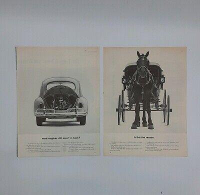 Vintage Volkswagon Beetle Advertisement Poster A3//A4 Print