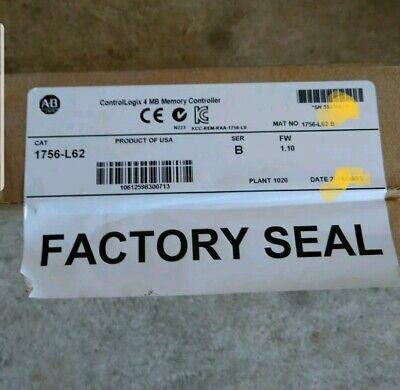 Allen-bradley 1756-l62 B 1756-l62 Cpu 2013 Controllogix Module Warranty Fast