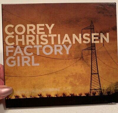 COREY CHRISTIANSEN - Factory Girl - CD Signed By Corey