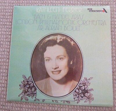 "Bach & Handel Arias Kathleen Ferrier 12"" Vinyl Record"