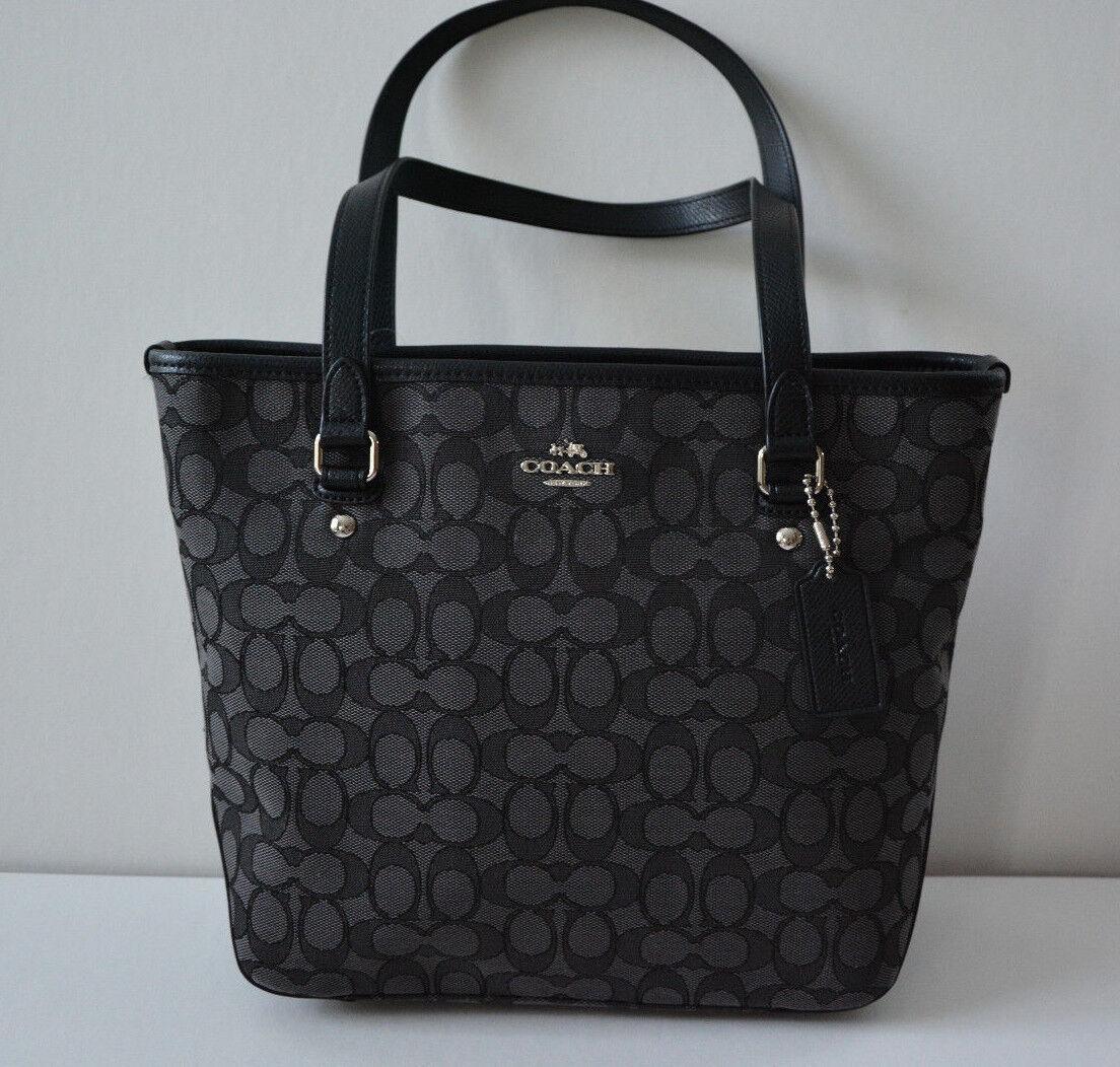 coach shoulder bag outlet  coach signature zip top