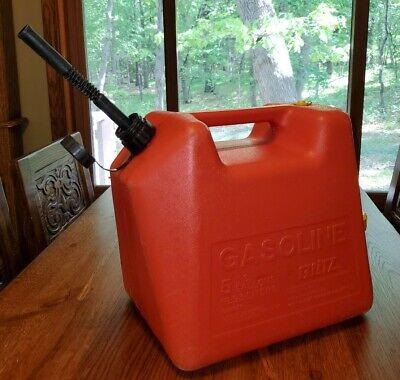 Blitz 5 Gallon 18.9l Plastic Gas Can Vented Pullout Spout. Usa Made Pre Ban