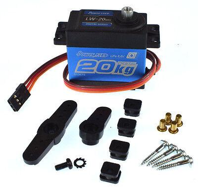 Power HD LW-20MG Standard Waterproof Digital High Torque Steering Servo