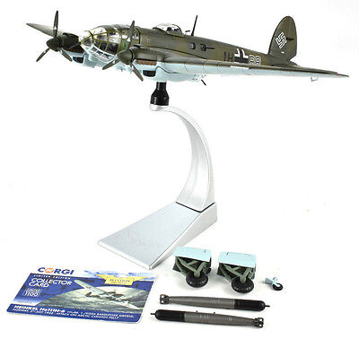 Corgi Heinkel He.III H-6 - Attack On Artic Convoy 1:72 Die-Cast Airplane AA33715