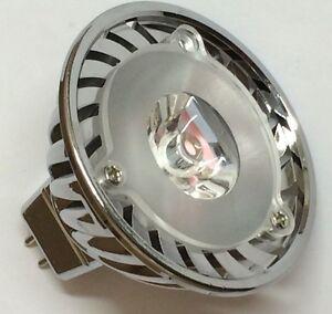 led mr16 bulb 12 volt low voltage 3 watt landscape lights ac dc new