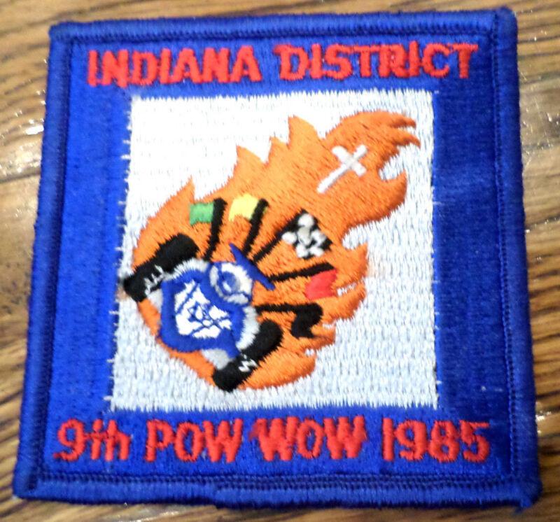 Indiana District 9Th Pow Wow 1985 Royal Ranger Uniform Patch