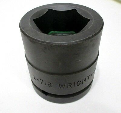 Wright Tool 84830 1-78 Impact Socket 1-12 Drive 6-point 1-78 In Made In Usa