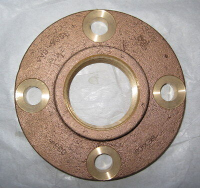 New Nipco 2-12 Pipe 7 Od Cast Copper Threaded Companion Pipe Flange 775