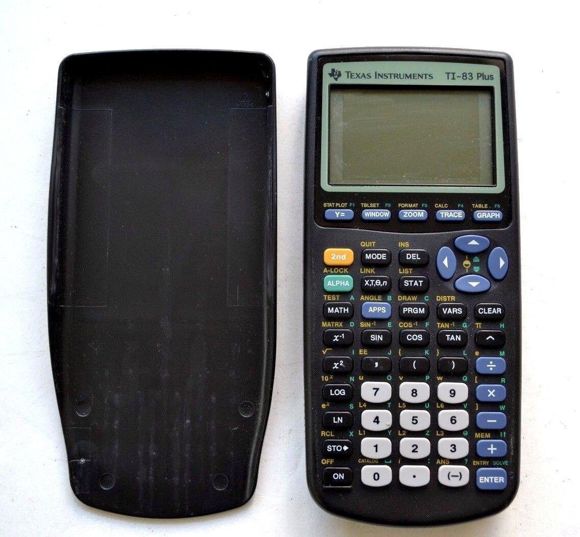 texas instruments ti-83 plus g... Image 1