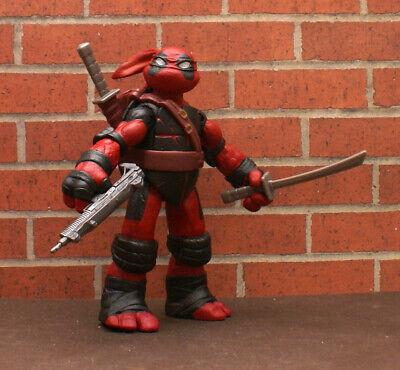 """Custom TMNT Deadpool 5"""" Figure. Loose. Teenage Mutant Ninja Turtles DEADPOOL"""