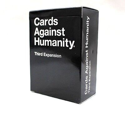 Cards Against Humanity, Third (3rd) Expansion, 112 Card Party Game,
