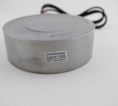 300kg Dc12v24v Electric Lifting Magnet Holding Electromagnet Solenoid Mk15050