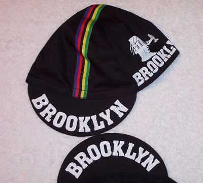 BROOKLYN CLASSIC BLACK TEAM CYCLING CAP NEW HAT